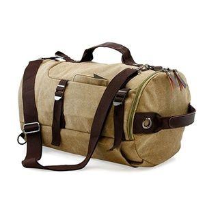 Other - Large Duffel Travel Canvas Bag Handbag Backpack